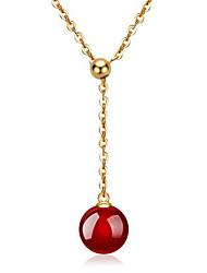 Homme Femme Couple Pendentif Argent sterling Agate Mode # 1 # 2 # 3 # 4 Bijoux Pour Mariage Soirée Quotidien Décontracté 1pc