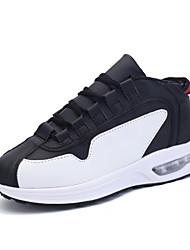 Sapatos Corrida Masculino Preto / Vermelho / Branco / Preto e Branco Microfibra