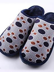 Men's Winter Slippers Fleece Casual Brown / Gray