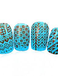 1pcs nieuwe 12x6cm image diy stamping platen nail art templates stencils voor polish xy-L20