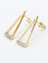 Earring Drop Earrings Jewelry Women Alloy / Platinum Plated / Gold Plated 1set Gold / Silver