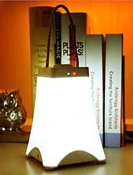 lumière de nuit conduit lampe suspendue portable lumière usb économie d'énergie rechargeable lampe de poche d'urgence (couleurs assorties)