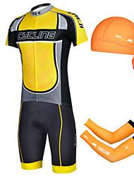 CHEJI Bike/Cycling Shorts / Arm Warmers / Bandana / Jersey / Jersey + Pants/Jersey+Tights / Clothing Sets/Suits Men's Short Sleeve