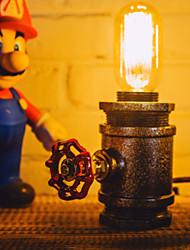 110-220V Vintage Pipe Night Light Loft Water Pipe Industrial Lamp Edison Bulb E27 American Style-FJ-DT2S-039E0