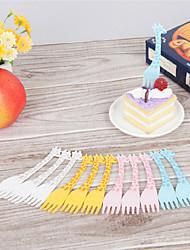 Plastica Forchetta da dolce Forchette da dolce