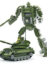 la construction de modèles modèle jouets de réservoir 2 en 1 plastique star wars tank amis guerre blocs de construction Transfor jouet