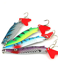 75mm/12g Metal Lure Spoon Bait (4Pcs/Packed)