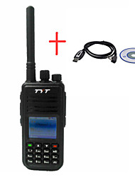 Hytera MD380 U+Cable Walkie Talkie 5W(H) ≥1W(L) 1000 400-470MHz 2000mAh Li-ion 3 km -5kmFM Radio / Notruf / PC-Software programmierbar /
