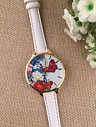 Girls Ladies Casual Watch Beautiful Full Rhinestone Watch Women Flower Wristwatch Butterfly Dress Watch Montre Femme Cool Watches Unique Watches