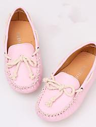 Zapatos de bebé - Mocasines - Exterior / Casual - Semicuero - Amarillo / Rosa / Blanco