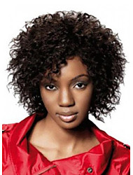Newest Medium Long Afro Kinky Curly Wig Synthetic Wig