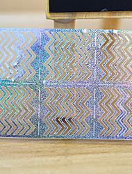 Autocolantes de Unhas 3D - Abstracto - para Dedo - de Outro - com 5 sheets - 13*7.5
