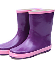 Women's Shoes Chunky Heel Round Toe Rain Boots Outdoor