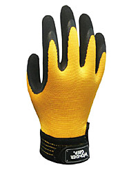 Rubber Protective Wear Fine Dust-Free Operation of Gardening Gloves (2/set)