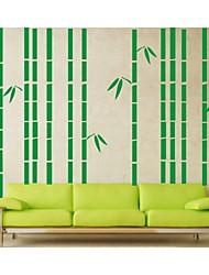 ботанический Наклейки Простые наклейки , PVC 200*300cm