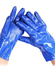Frosted PVC Non-Toxic Waterproof Gardening Gloves (2/set)