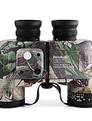 Boshile® 10X50 Waterproof  Navy Binoculars Telescope with Rangefinder and Compass