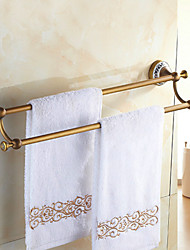 Towel Bar , Antique Antique Copper Wall Mounted