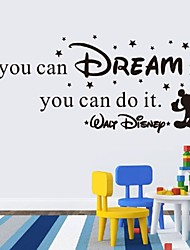 If You Can Dream It You Can Do It Wall Stickers Home Art Decor Decal Mural Wall Stickers For Kids Rooms