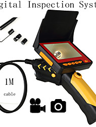 "Digital Inspection System Video DVR 4.3"" LCD HD Digital Video 8.5MM Borescope Endoscope System 1M Cable"
