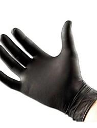 basekey нажмите неприпудренные черный одноразовые нитриловые перчатки татуировки механика в штучной упаковке 100
