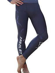 SABOLAY Men's Dive Skins Wetsuit Pants Ultraviolet Resistant Compression Elastane Tactel Diving SuitPants/Trousers/Overtrousers Swimwear