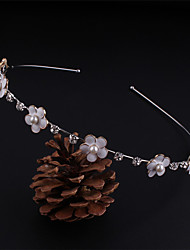 White Flower Shape Headbands for Lady Wedding Party/Casual