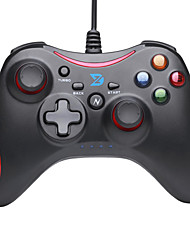 zhidong® zwart& rode n wireled controller voor ps3 / Android-telefoon / tv box / pc
