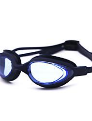 Óculos de Natação Unisexo Anti-Nevoeiro Gel Silica Nailom Branco / Cinzento / Preto / Azul Azul Escuro / Roxo / Rosa / Cinzento / Azul