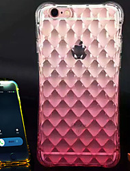 For iPhone 6 Case iPhone 6 Plus Case Shockproof Transparent Case Back Cover Case Color Gradient Soft TPU foriPhone 6s Plus iPhone 6 Plus