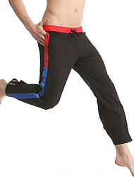 Men's Cotton / Nylon Long Johns Outdoor Sports / Yoga Long Pants Men's Pajamas