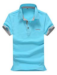 Men's Sports Casual Short Sleeved Shirt POLO Plus Sizes