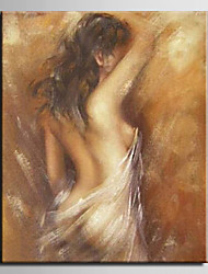 Oil Painting Nude Woman Abstract  Hand Painted Canvas with Stretched Framed