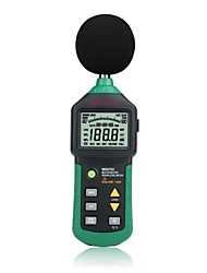 Mastech MS6702 data storage temperature humidity test - Test - three in one function of the sound level meter
