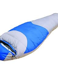 Schlafsack Mumienschlafsack Einzelbett(150 x 200 cm) -15℃ Enten Qualitätsdaune 1800g 220X80 Reisen Wasserdicht / Kaltes WetterPhoenix
