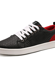 Men's Shoes Casual/Runing Fashion Casual Sport Shoes Black red/White red/White black