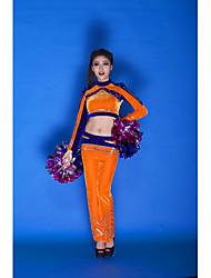 Accesorios(Naranja,Terciopelo,Vestidos de Cheerleader) -Vestidos de Cheerleader- paraMujer Lentejuelas Representación