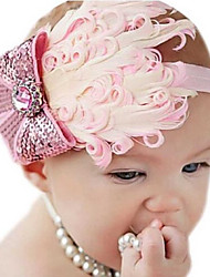 Kid's Cute Feather Flowers Headband(6 Month-3Years Old)