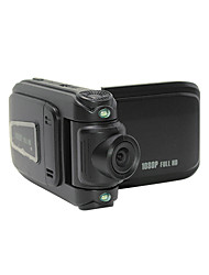 "2.0"" LCD 5.0 MP Wide Angle 4X 1080P Zoom Digital Car DVR Camcorder  Mini USB HDMI TF Card - Black"