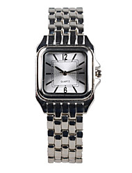 Fashion  Silver Square Women's Watch Cool Watches Unique Watches