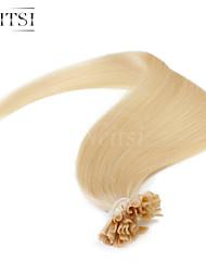 """neitsi 20 """"1g / с 50g кератина слияние у ногтей наконечник прямые Ombre расширения человеческих волос # 22"""