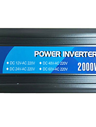 2000w Power Inverter 12v24v mit usb zu 220v