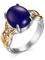 ms 18 k or fixé anneaux tarière de titane