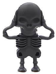 ZPK46 64GB Black Skeleton Zombie USB 2.0 Flash Memory Drive U Stick