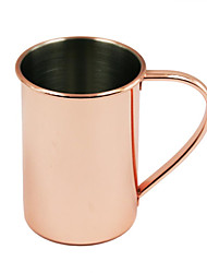 nouveauté cuivre drinkware moscou mule tasses la poignée est soudé - pas de rivets laid