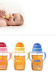 Baby, Children, Glass Bottle Cup Straw Originality