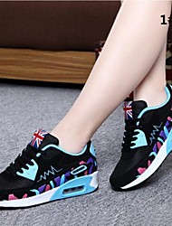 Women's Trail Running Shoes Hiking Trainers-Breathable Mesh Running Shoes Slip-on Comfort Quick Dry Sneakers