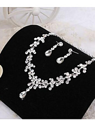 Bride Rhinestone Jewelry Set  Wedding / Party / Daily / Casual 1set