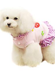 Dog Coat Purple Summer Fashion