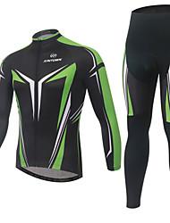 XINTOWN SportWear Cycling Bike Fleece Long Sleeve Clothing Bicycle Jersey Long Suit